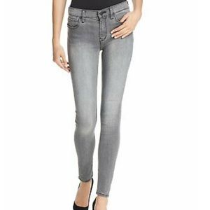 Mid Rise, Skinny, Grey Jeans by Hudson